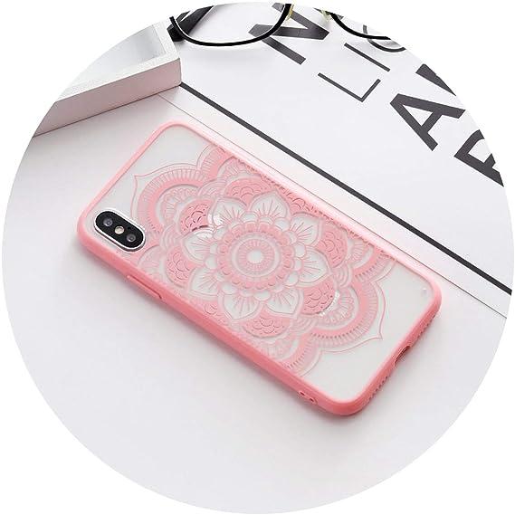 amazon com floral sexy lace mandala case for iphone 7 5s 5 se 7plusfloral sexy lace mandala case for iphone 7 5s 5 se 7plus fashion vintage flower clear