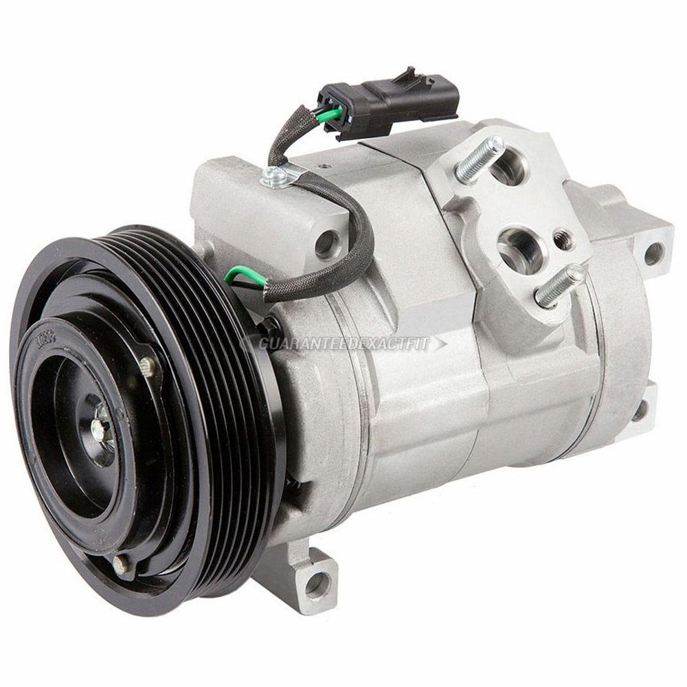 AC Compressor & A/C Clutch For Chrysler Pacifica 2004 2005 2006 - BuyAutoParts 60-01937NA New