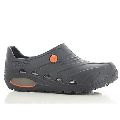 Safety Jogger Berufsschuhe Oxypas Oxyva Unisex-Erwachsene Arbeitsschuhe,  Clogs, Farbe: Black,