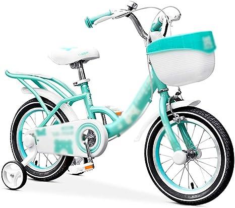 Bicicletas HAIZHEN niñas, Princesa Rosa y Verde Claro niños de 3-8 ...