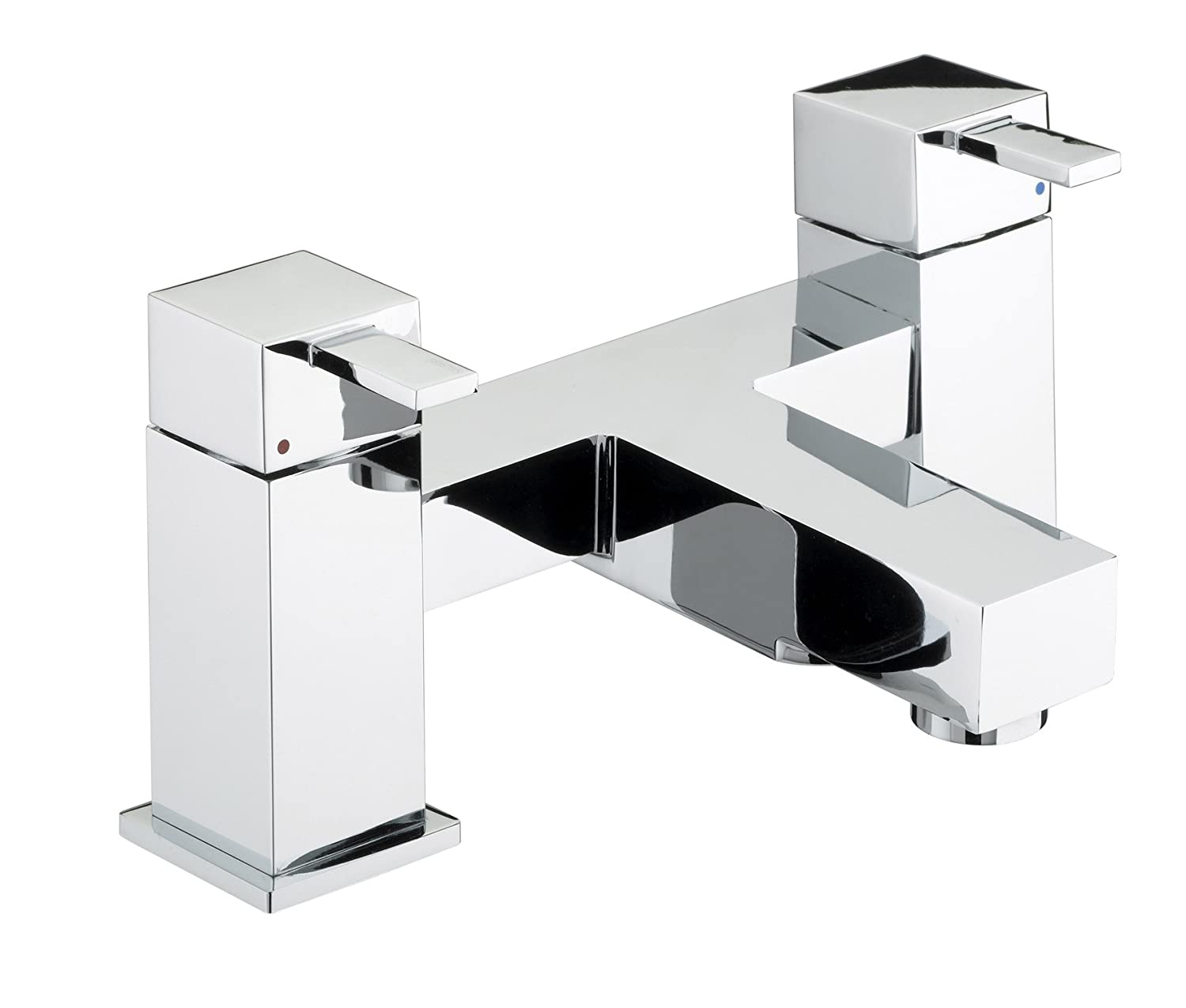 Bristan QD BSM C Quadra To Pillar Bath Shower Mixer