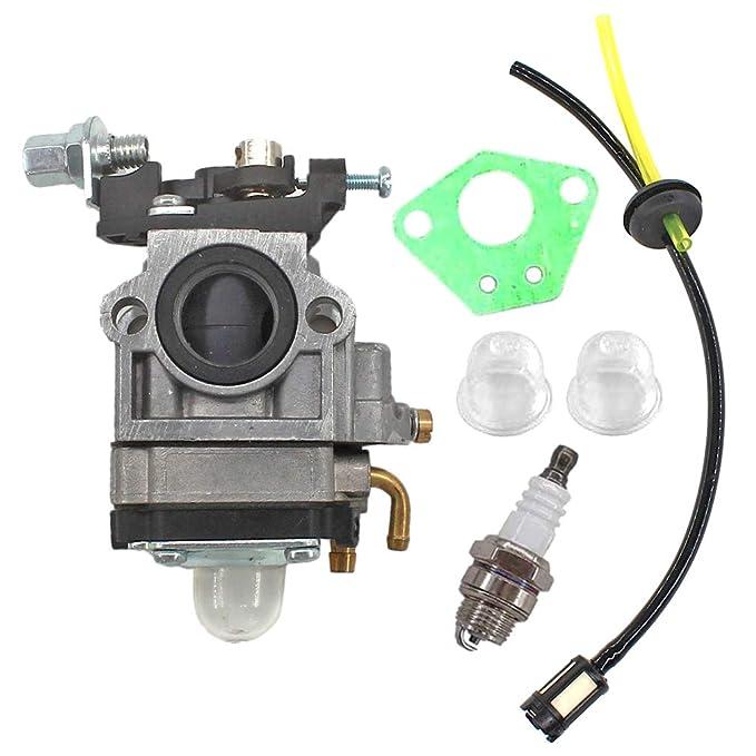 AISEN Carburador con Bujía Filtro de gasolina para Timbertech MS ...