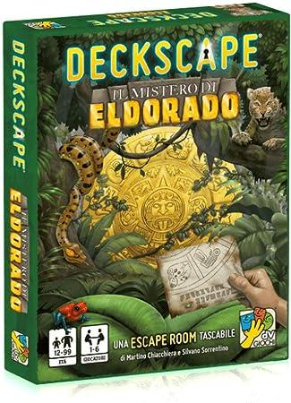 Da Vinci deckscape: El Misterio de Dorado Juego de Mesa Italiano ...