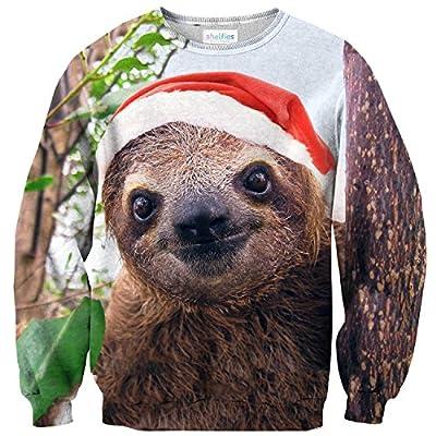 Shelfies Holiday Sloth Sweater - Sloth Sweater