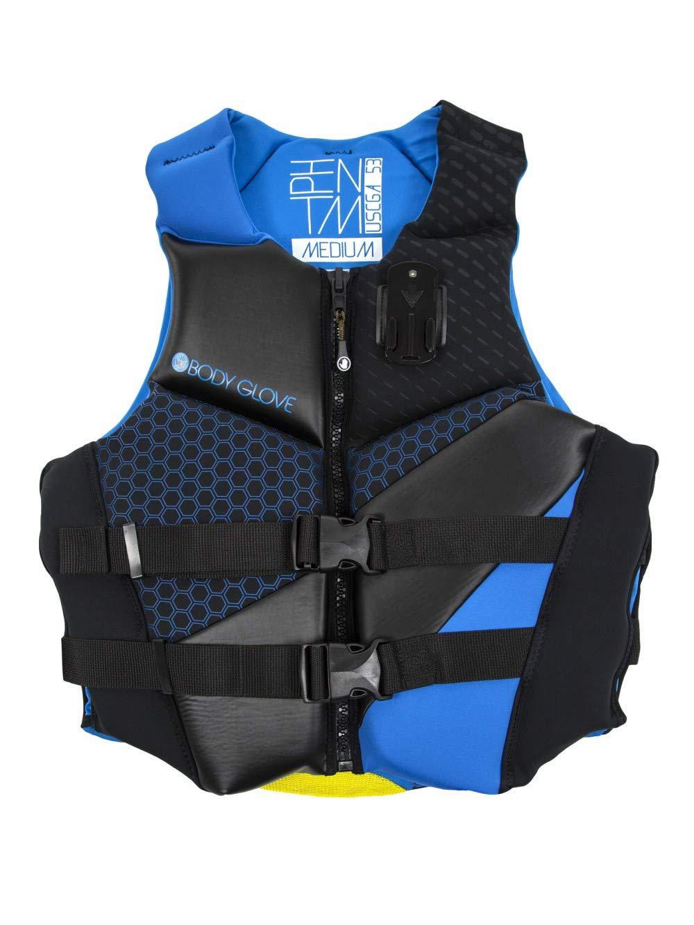 Sport DimensionボディグローブメンズPhantom Vests、M、ブルー/ブラック   B077MNPLN3