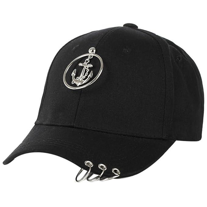 Belsen Cappellino da baseball - Donna Anker Schwarz Taglia unica ... 962c950c8e13