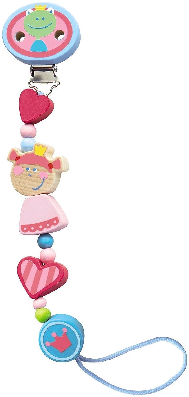 Amazon.com : Cadena Corazón Princesa Chupete : Baby