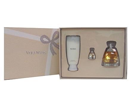 Vera Wang By Vera Wang Gift Set for Women 3.4 Oz Eau De Parfum Spray 3.4 Oz Body Lotion 4ml Eau De Parfum