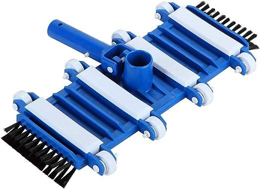 Proglam - Cabezal de aspiradora Flexible para Piscina con Cepillo ...