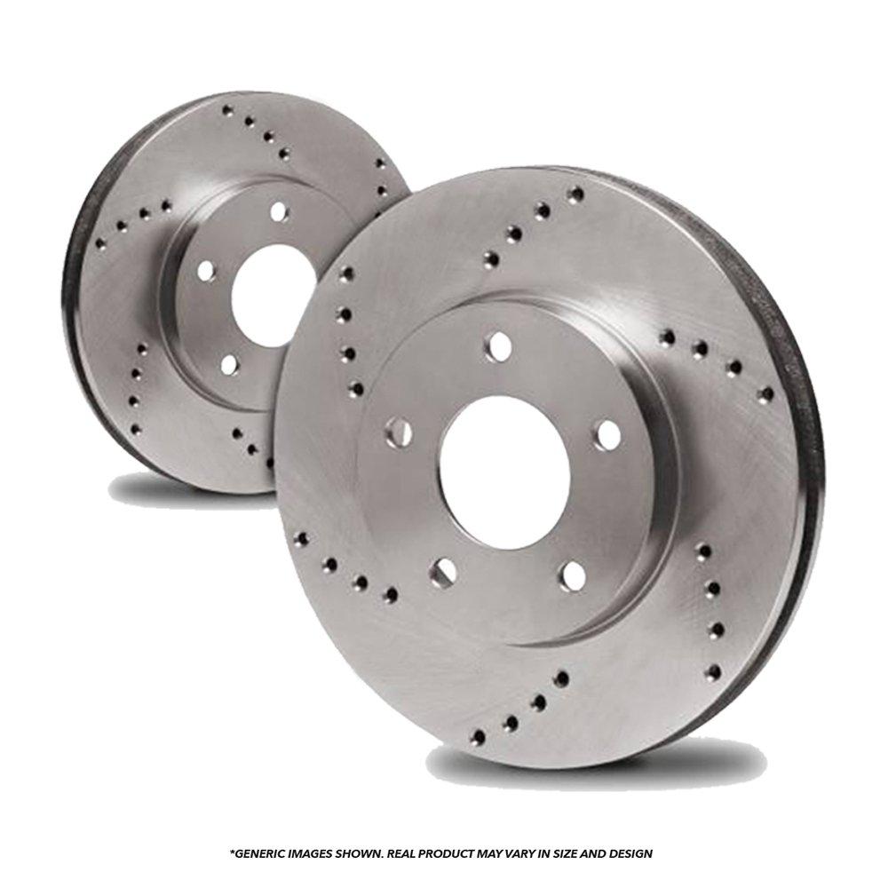 4 Ceramic Pads Fits: H3 H3T High-End 6lug Front Kit 2 Brake Rotors