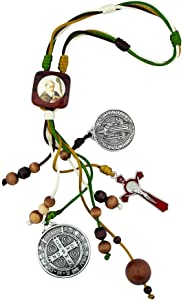 "VILLAGE GIFT IMPORTERS 12"" Saint Benedict Home Blessing Ornament 
