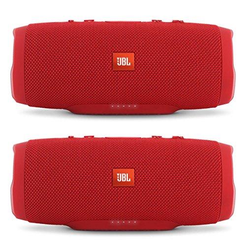 jbl-charge-3-waterproof-portable-bluetooth-speaker-pair-red-red