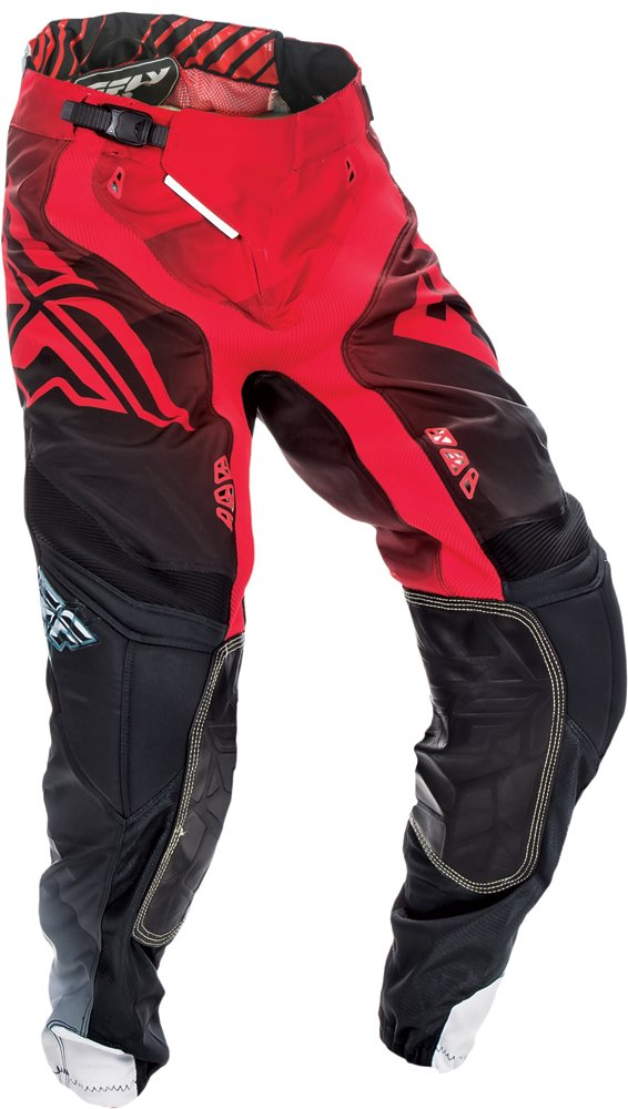 Fly Racing Unisex-Adult Lite Hydrogen Pants Red/Black/White Size 30