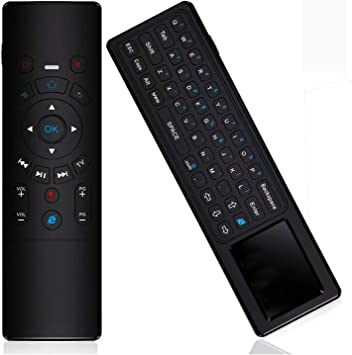 KingLeChange T6 Air Mouse 2.4GHz Mini teclado inalámbrico con control remoto táctil para Android TV Box, Kodi TV Box, Google TV Stick, Smart TV y más: Amazon.es: Electrónica