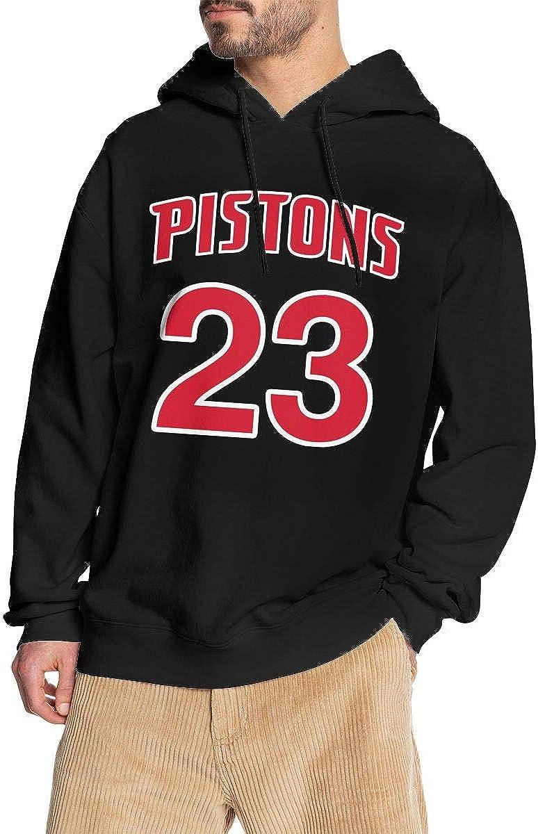 GSV Mens Blake #23 G-riffin Pullover Hoodies Hooded Sweatshirt 3XL Black