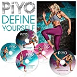 PiYo Base Kit 5 DVDs Workout with Exercise Videos & Fitness Tools and Nutrition Guide