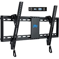 """Mounting Dream UL Listed TV Mount for Most 37-70 Inches TVs, Universal Tilt TV Wall Mount Fits 16"""", 18"""", 24"""" Studs with…"""