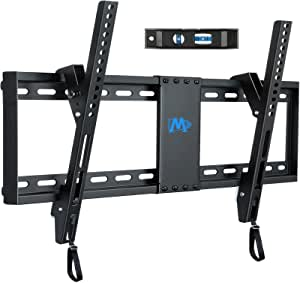 """Mounting Dream TV Mount for Most 37-70 Inches TVs, Universal Tilt TV Wall Mount Fits 16"""", 18"""", 24"""" Studs with Loading 132 lbs & Max VESA 600x400mm, Low Profile Wall Mount Bracket MD2268-LK"""