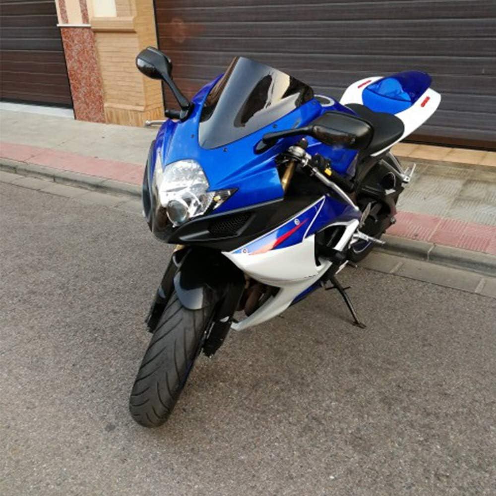 Humo Dasorende Espejo Retrovisor de la Motocicleta con Luz de Se?al de Giro Espejo para GSXR600 750 2006-2010 GSXR 1000 2005 2006 2007 2008