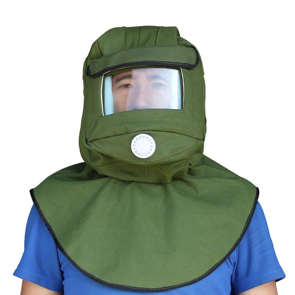 CKLT Sand Blasting Hood Cap Shawl Cap Sandblaster Mask Anti-dust Hood Protective Gear Mask,Canvas (canvas) by CKLT