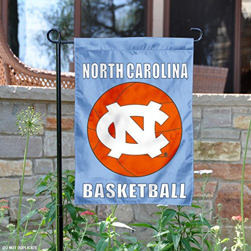 - College Flags and Banners Co. North Carolina Tar Heels Basketball Garden Flag