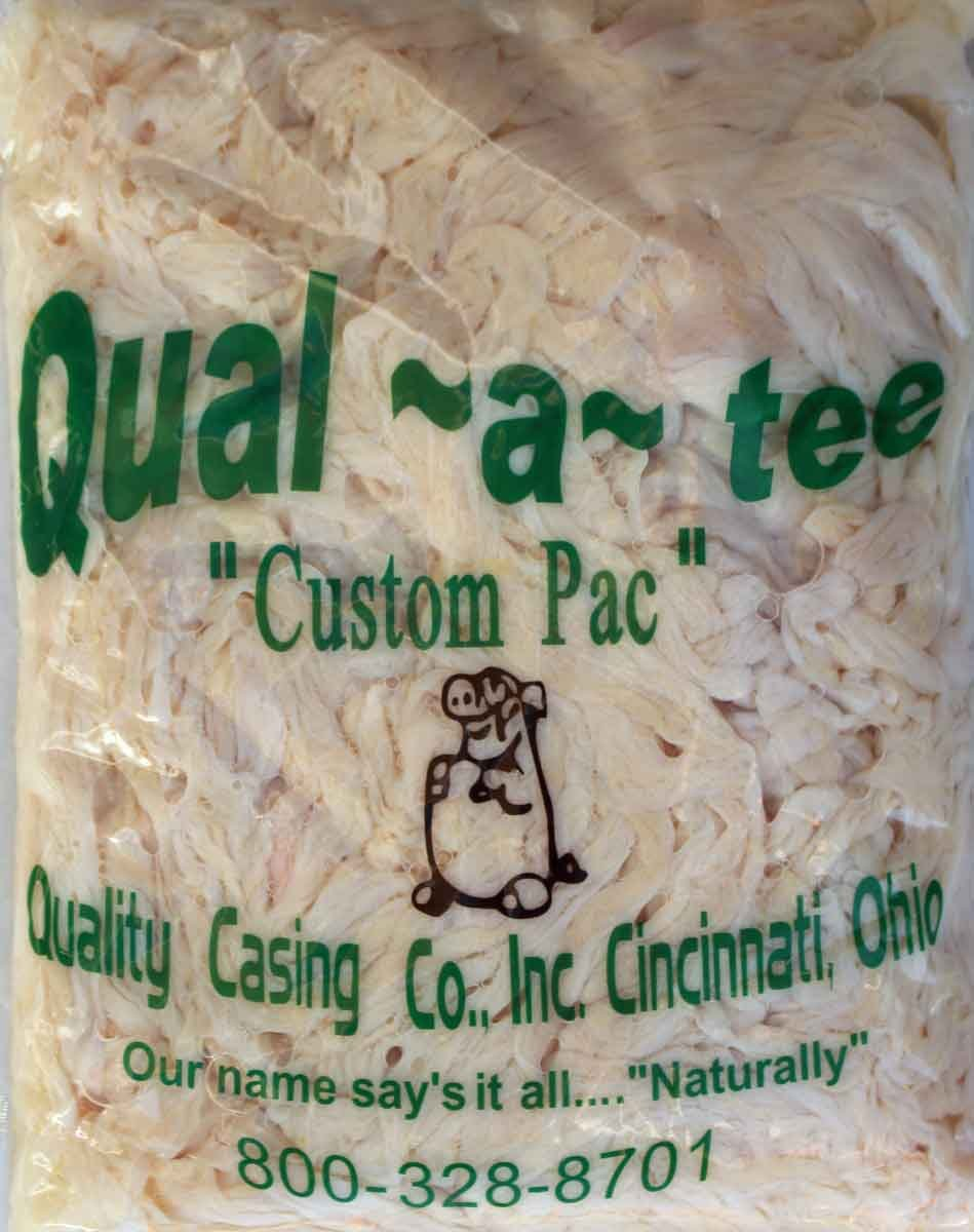 Natural Hog Casings For Sausage - Hank - 32 to 35mm - Quality Casing