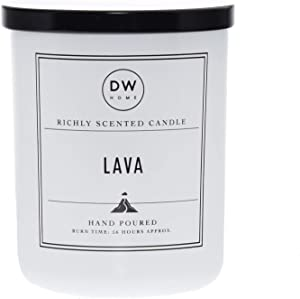 DW Home, Large Double Wick Candle, Lava