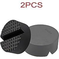 Exleco Dubbele rubberen pad voor autokrik, universeel, voor bescherming van je auto en SUV tegen krassen, ideaal voor…
