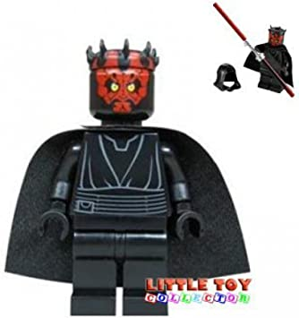 Lego Star Wars Darth Maul From 7961 New Design Amazon Co Uk Toys Games