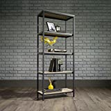 Laurel Foundry Modern Farmhouse Ermont 57'' Etagere Bookcase in Charter Oak Finish