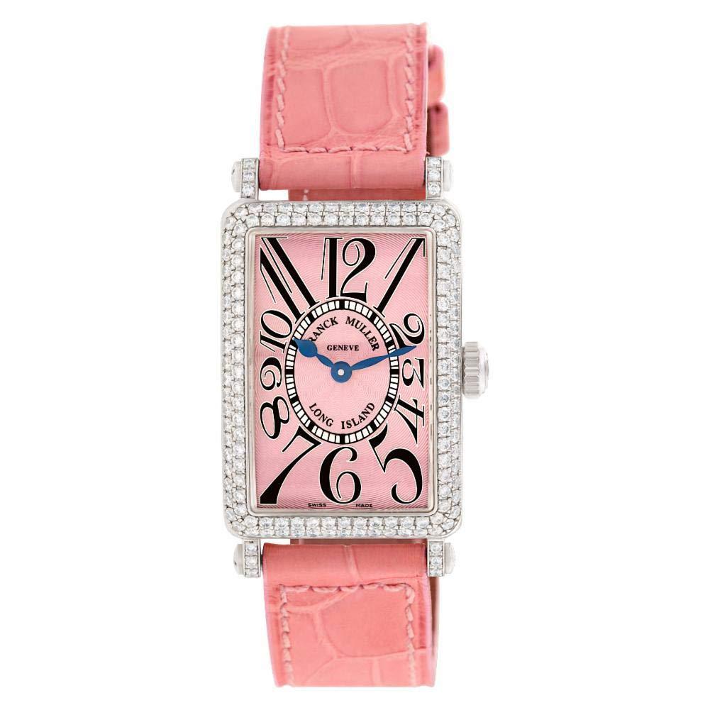 Franck Muller Long Island 902 QZ D - Reloj de Cuarzo para Mujer ...