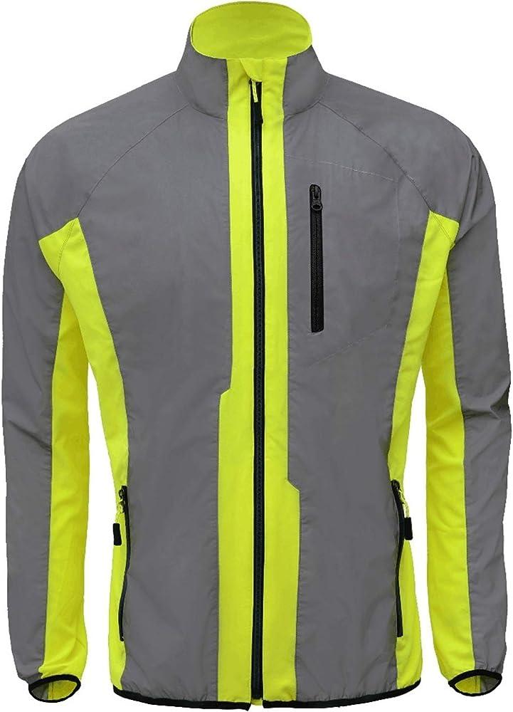 Breathable Reflective Cycling Jacket \u0026