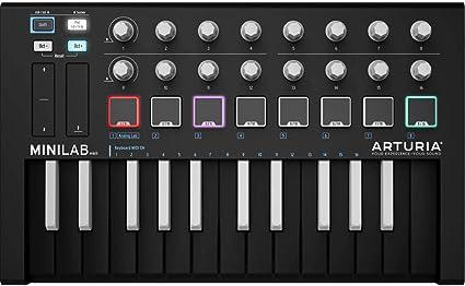 Ableton Software Arturia MiniLab MKII MK2 25-Key USB MIDI Keyboard Controller