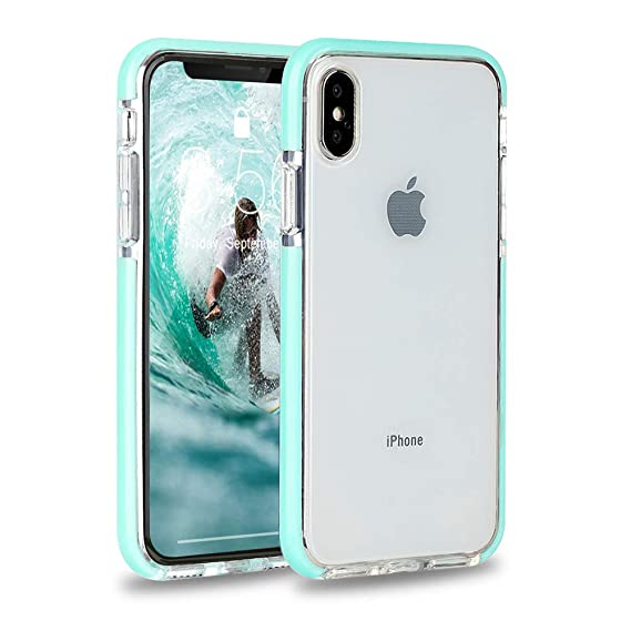 quality design 7c175 f281f iPhone XS Case, iPhone X Case, FGA Soft Flexible TPU Bumper Clear  Transparent Back Case Cover for iPhone X, iPhone XS- 5.8 inch