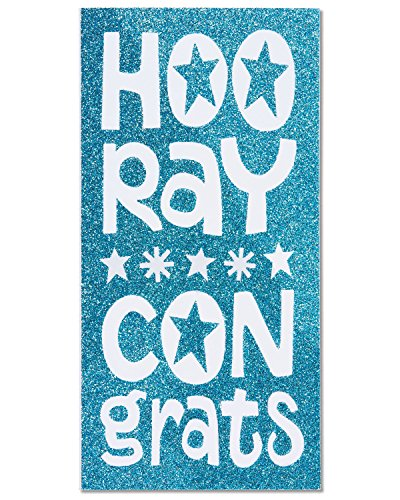 Greetings Money Holder - American Greetings Money Holder Congratulations Card with Glitter