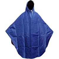 Women Men Safe Reflective Bike Poncho with Sleeves Womens Long Raincoats Transparent Thickening Large Hat Brim