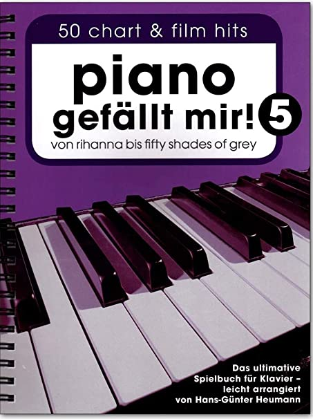 Bosworth BOE7794-9783865439000 Piano gefällt mir! Band 5 - Libro de partituras para piano (con espiral)