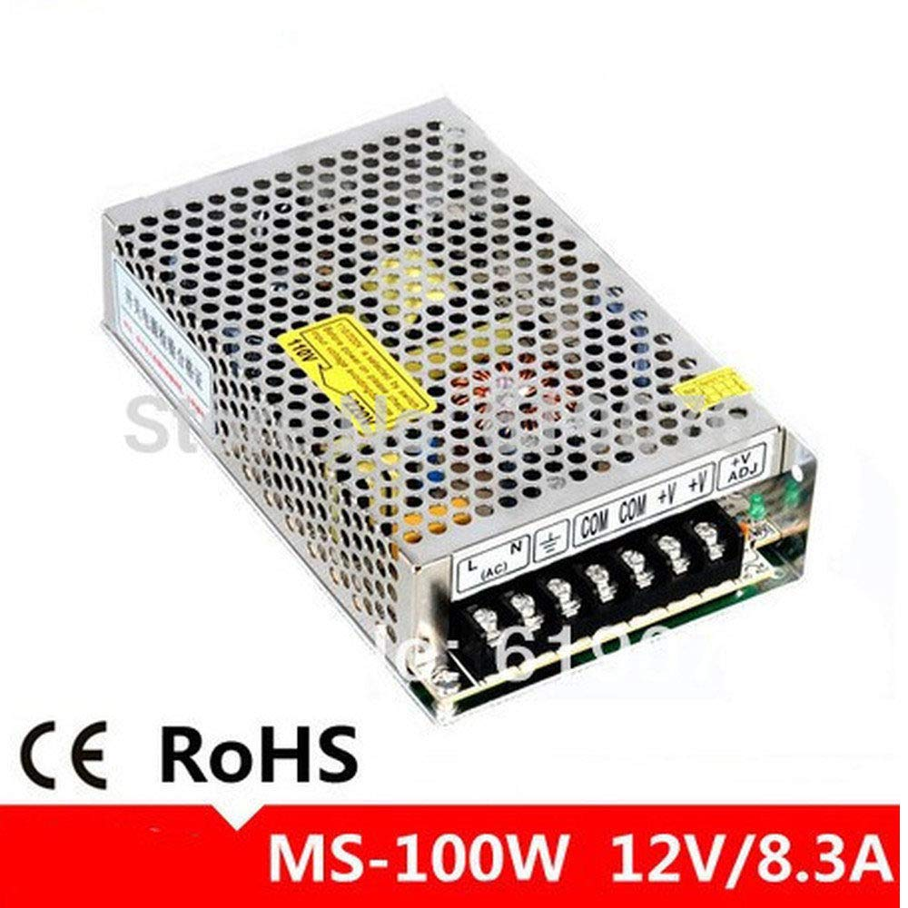 IndustrialField Small Size LED Switch Power Supply 100W 12V8.3A Power Supply MS-100-12 Mini Type