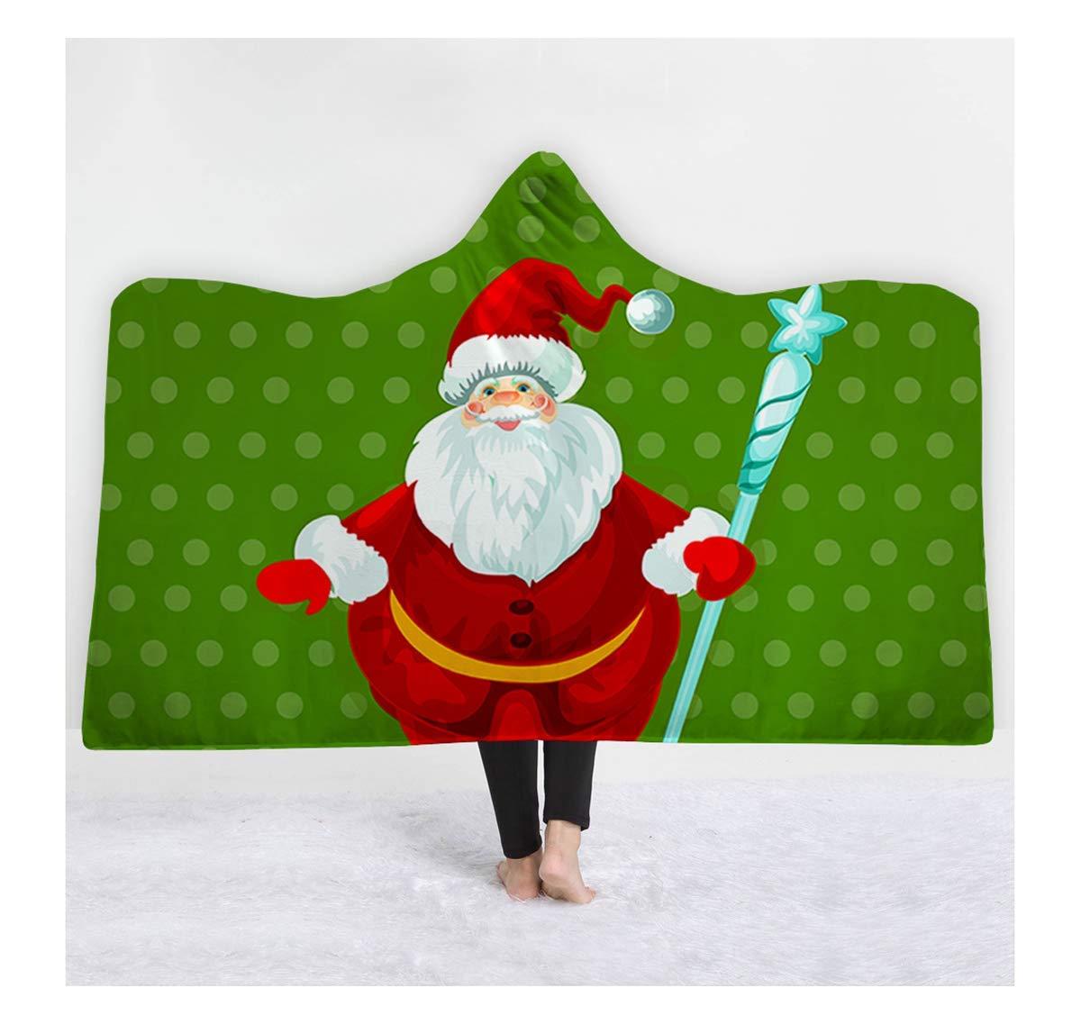 MOXHH 厚手 暖かいフード付きブランケット 厚手 3Dデジタルプリント クリスマスブランケット Adult Adult Adult 29 B07K8NS59R B07K8NS59R, BOON SQUARE -陽気な広場-:124ced70 --- ijpba.info