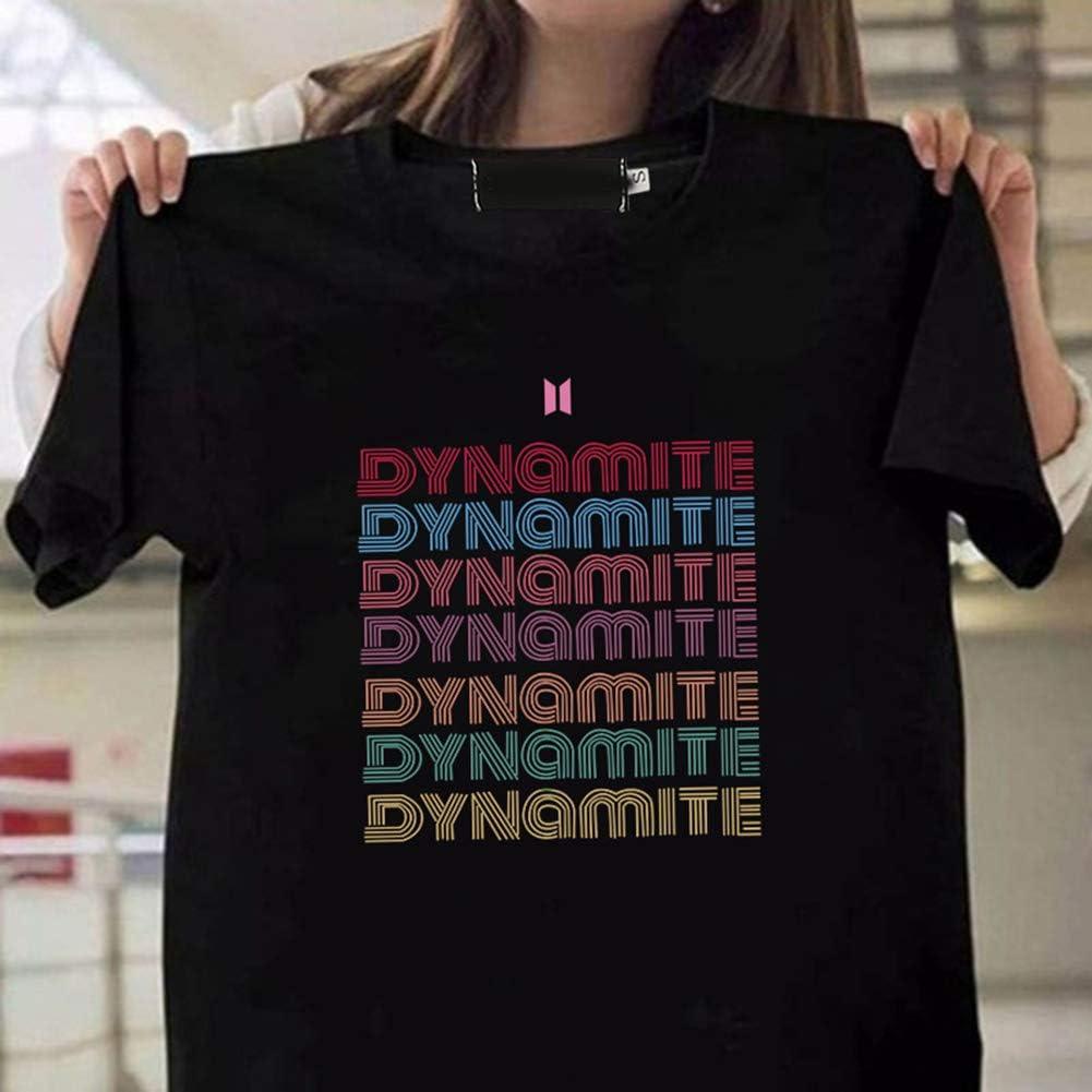 Quintina Kpop Dynāmite Camiseta unisex para mujer