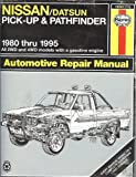 img - for Nissan Pick-ups Automotive Repair Manual (Haynes Automotive Repair Manuals) book / textbook / text book