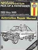 Nissan Datsun P U 80-95, Haynes Publications Staff, 1563921340