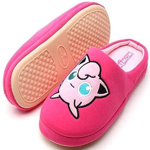 Igglybuff Pokemon-Go Japan Character Women s Men s Unisex Winter Warm Women  Indoor Shoes House Slipper 3ed3c60b74