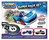 NKOK Sonic & Tails RC Slot Car Set Race Set Vehicle