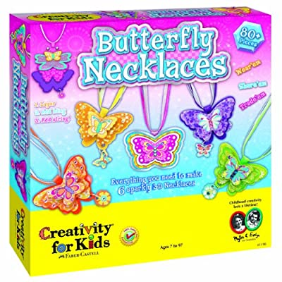 Creativity for Kids Butterfly Necklaces