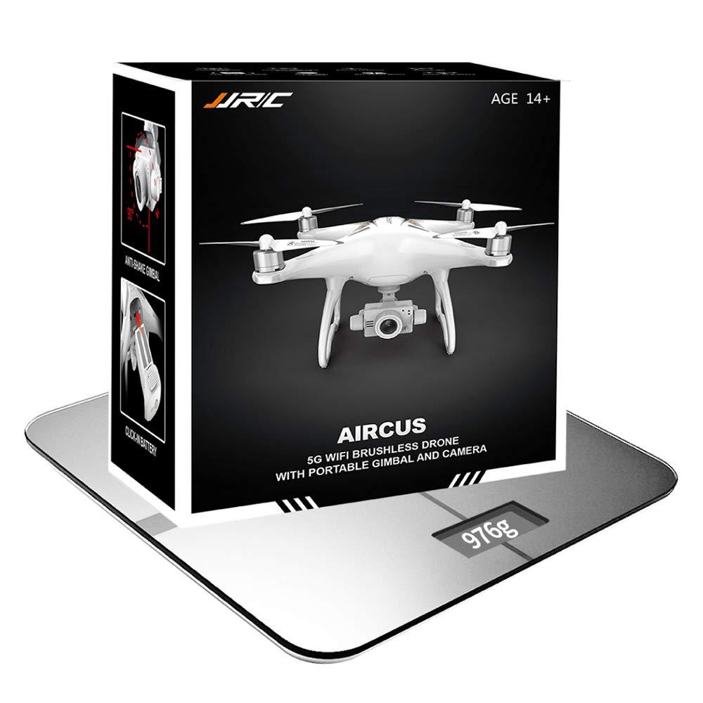 Amyove Drone cuadricóptero con Cámara, JJRC X6 Aircus GPS RC con ...