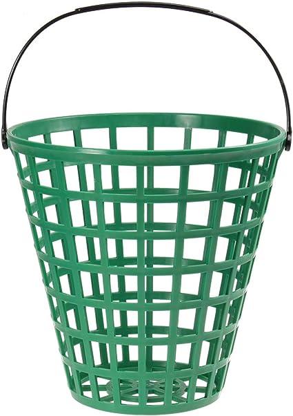 LIOOBO Cubo de plástico para Pelotas de Golf - Recipiente para ...