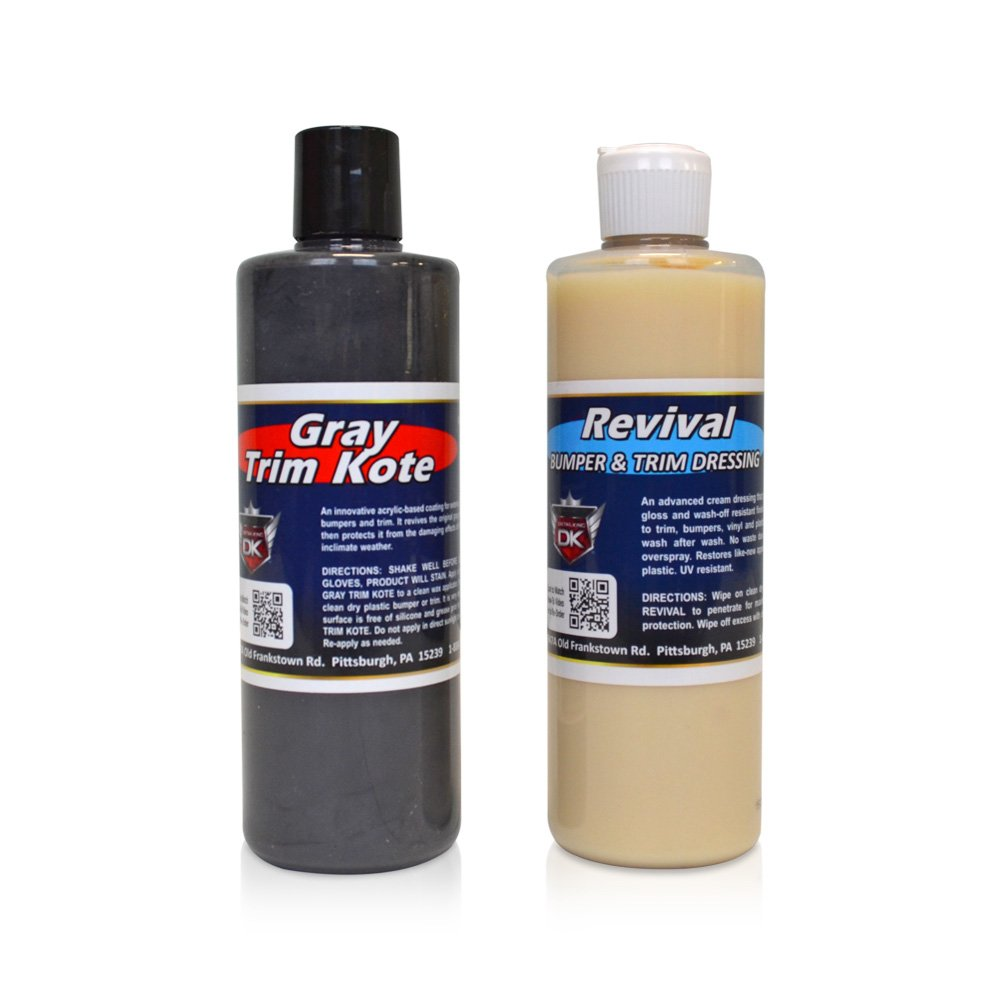 Detail King Trim Kote & Revival Value Kit- Gray