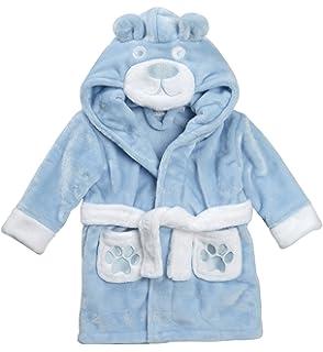 Lora Dora Baby M/ädchen Jungen Neuheit 3D Hood Tier Bademantel Bademantel Gr/ö/ße UK 6 24/Monate