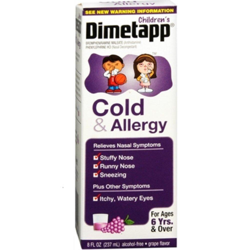 Children's Dimetapp Cold & Allergy 8oz